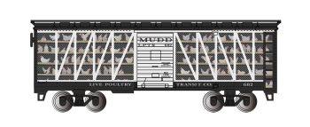 Live Poultry Transit Co. #682 - Poultry Transport Car
