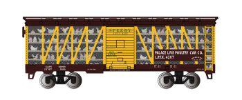 Palace Live Poultry Car Co. #4207 - Poultry Transport Car