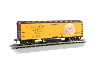 Agar Packing Co. - Track Cleaning 40' Wood-Side Reefer