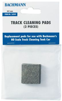 Track Cleaning Replacement Pads (2/Package)