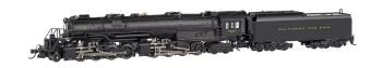B&O #7602 - Early Large Dome - EM-1 2-8-8-4 DCC Sound Value