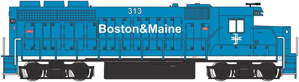 Boston & Maine #313 - GP40