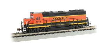 BNSF #3012- GP40 - DCC Econami Sound Value