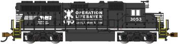 Norfolk Southern Operation Lifesaver #3053 - GP40