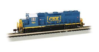 CSX #6001 - GP40 - DCC Econami Sound Value