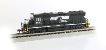 Norfolk Southern #3057 - GP40 - DCC Econami Sound Value