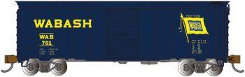 Wabash - AAR 40' Steel Box Car