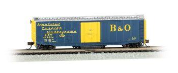 B&O?� #478554 - Track Cleaning 50' Plug-Door Box Car