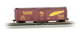 Western Pacific��� #56057 - Track Cleaning 50' Plug-Door Box Car