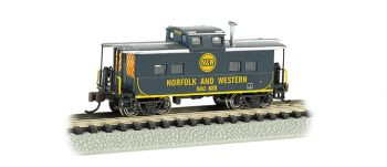 Norfolk & Western Blue # 500 838 - NE Steel Caboose