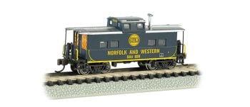 Norfolk & Western Blue # 500 838 - NE Steel Caboose