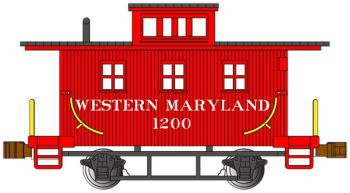 Western Maryland #1200 - Old-Time Caboose