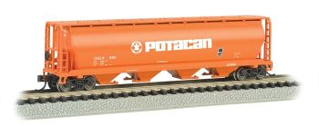 Potacan - 4 Bay Cylindrical Grain Hopper