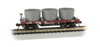 U.S. Military RR- Old-Time Water Tank Car