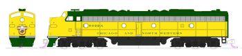 "C&NW EMD E8A #5022 and Pullman Bi-Level ""400"" Train 6-Unit Set w/ Pre-Installed DCC"