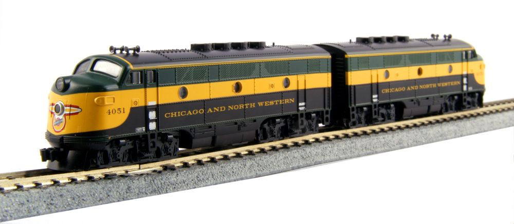 EMD F2 + F3 locomotive two-packs