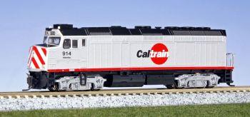 EMD F40PH Caltrain #914 w/ Pre-Installed DCC