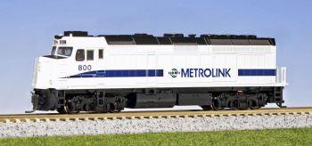 EMD F40PH Metrolink #800/W pre installed DCC