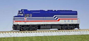 EMD F40PH Virginia Railway Express #V34 /W pre-installed DCC