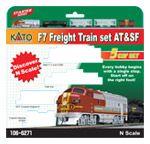 EMD F7 AT&SF Freight Train Set