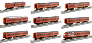 "Milwaukee Road ""Olympian Hiawatha"" 9 Car Set"