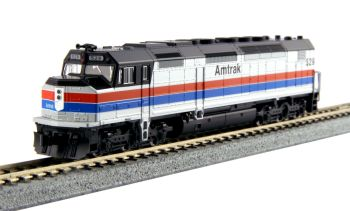 EMD SDP40F Type I, Amtrak Phase II Paint #529 w/ DCC Installed