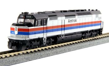 EMD SDP40F Type I, Amtrak Phase II Paint #535 w/ DCC Installed