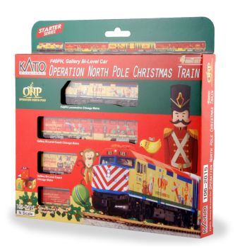 2015 Operation North Pole Christmas Train 4-Unit Set