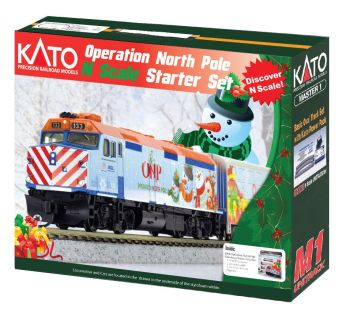 2016 Operation North Pole Christmas Train Starter Set
