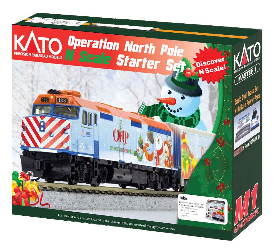 Operation North Pole Christmas Train Sets