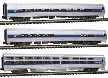 Amfleet Viewliner Intercity Express Phase VI 3-Car Set
