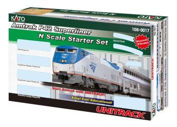 Amtrak P42 Superliner Phase IVb Starter set
