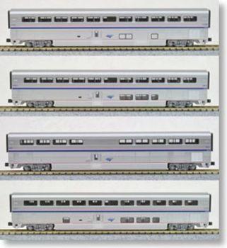 Amtrak Superliner Phase IVb 4-Car Set A