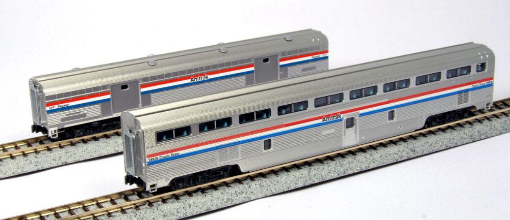 Amtrak Superliner I, II and Hi-Level Cars