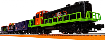 End of Line - Halloween  Express LionChief Set