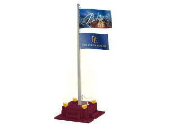 Polar Express Flagpole