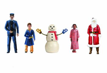 Polar Express Snowman & Children People Pack