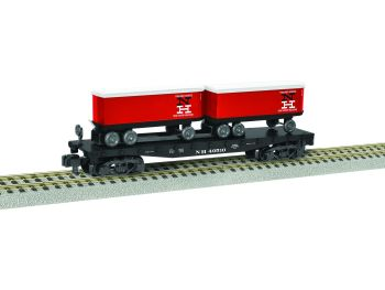 New Haven Piggyback Flatcar with Trailers