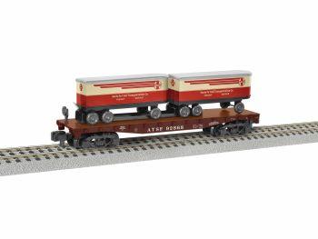 Santa Fe TOFC Flatcar #92868