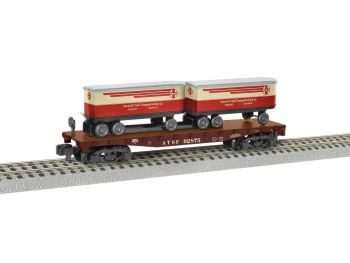 Santa Fe TOFC Flatcar #92875