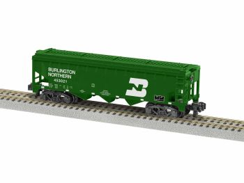 Burlington Northern 3 Bay Covered Hopper #453021