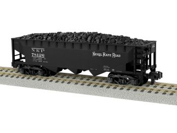 Nickel Plate Road 3-Bay Hopper #78126