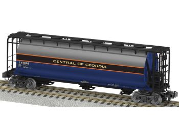 Central of Georgia NS Heritage S-Scale Cylindrical Hopper