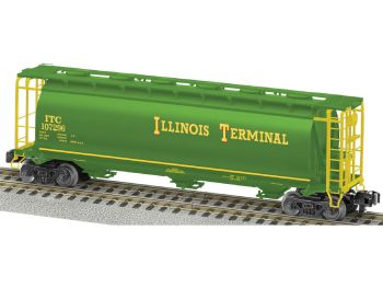 Illinois Terminal Heritage 1:64 Scale Cylindrical Hopper #107296