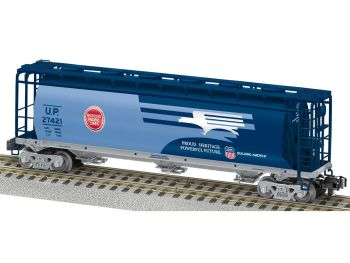 Missouri Pacific UP Heritage 1/64 Scale Cylindrical Hopper
