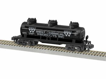 West Chemical 3 Dome Tankcar #70491