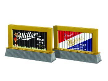 Miller Coors Blinking Light Billboard