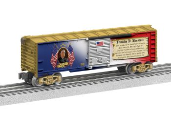 Presidents Boxcar - Franklin D. Roosevelt