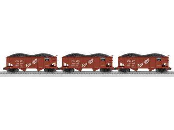 50-ton Twin Hopper 3-Pack - Burlington Scale