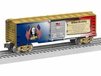 Presidents Boxcar - William McKinley